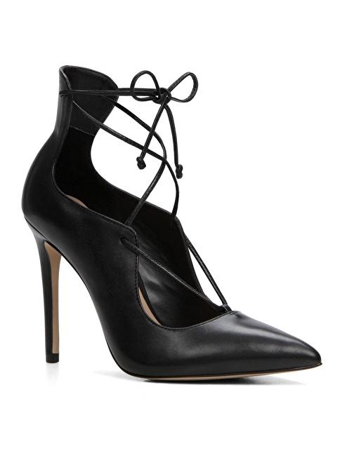 Aldo Bağcık Detaylı Stiletto Ayakkabı Siyah
